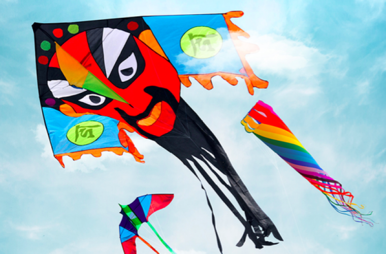 Let All the Bad Luck Fly Away in the Sky… Like a Kite