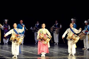 "The Korean Traditional Drums Ensemble ""Samulnori Soyoung"" Enchants the Bulgarian Stage"